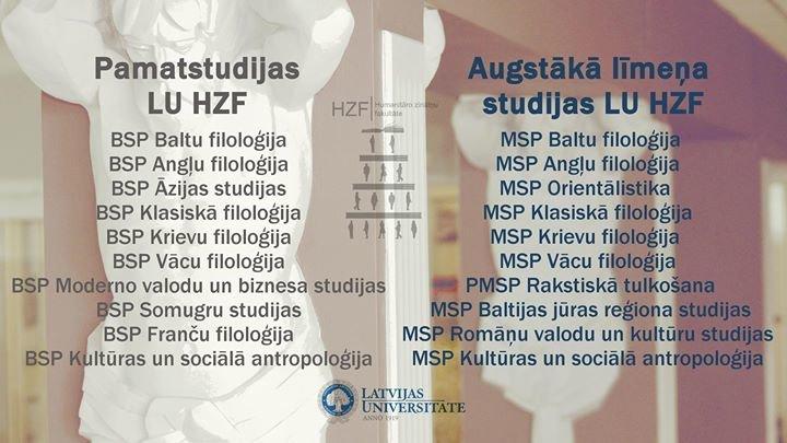 Latvijas Universitātes Humanitāro zinātņu fakultāte cover
