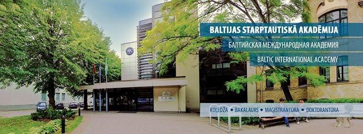 Baltijas Starptautiskā Akadēmija cover