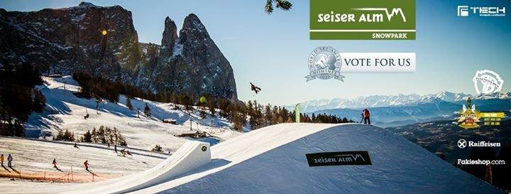 Snowpark Seiser Alm cover