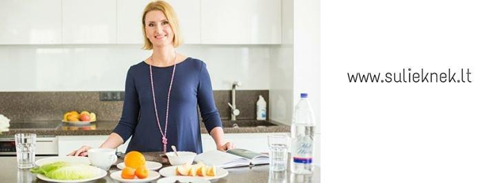 Vaida Kurpiene - sveika mityba cover