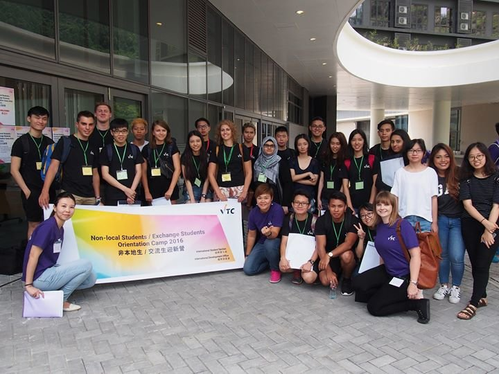 Hong Kong Vocational Training Council International Student Section cover
