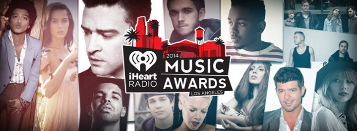 iHeartRadio Music Awards cover