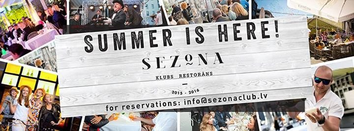 Klubs - restorāns Sezona cover