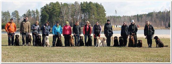 Latvian Labrador Retriever Breeders Club cover