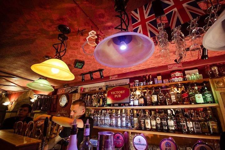 Victory Pub Riga cover