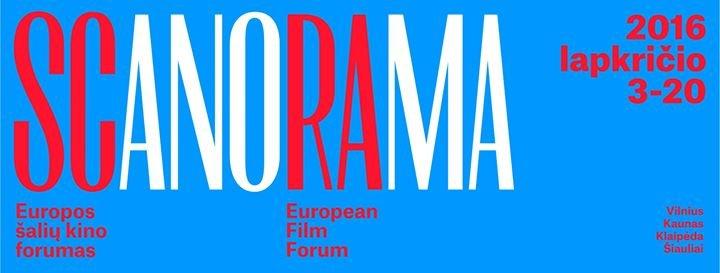 """Europos šalių kino forumas """"Scanorama"""" cover"""
