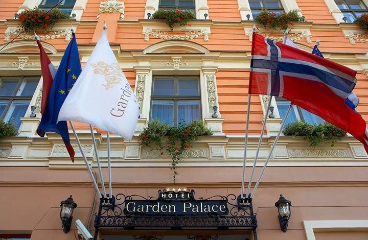 Hotel Garden Palace, Riga cover