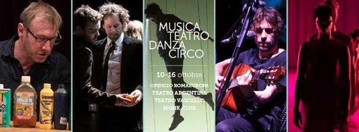 Romaeuropa Festival cover