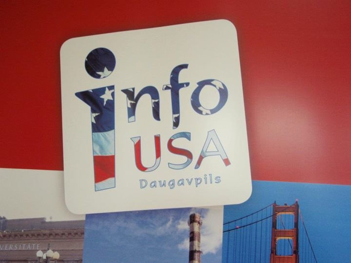 USA Information Center Daugavpils cover
