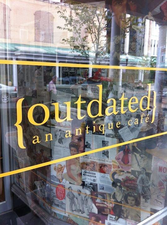 outdated: an antique café cover
