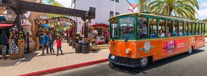 Old Town Trolley Tours of San Diego cover