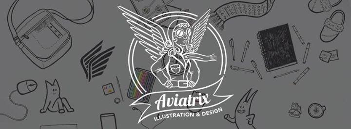 Aviatrix Illustration and Design cover