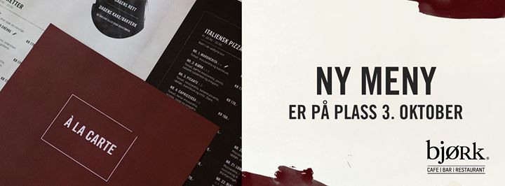 BJØRK cover