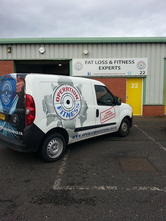 Operation Fitness North East cover