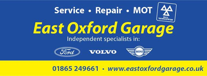 East Oxford Garage cover