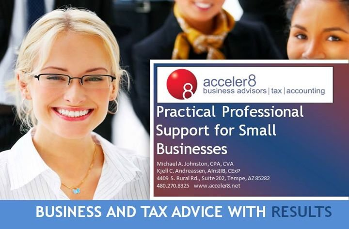 Acceler8 llc - Business Advisors | Tax | Accounting | Exit Planning | Business Coach cover