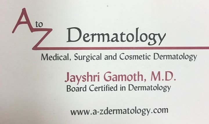 A to Z Dermatology cover