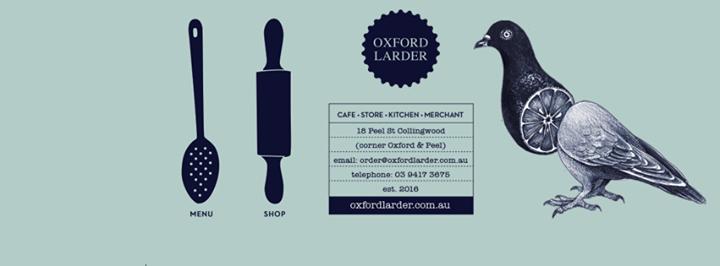 Oxford Larder cover