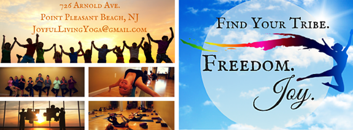 The Joyful Living Yoga Center Point Pleasant Beach, NJ cover