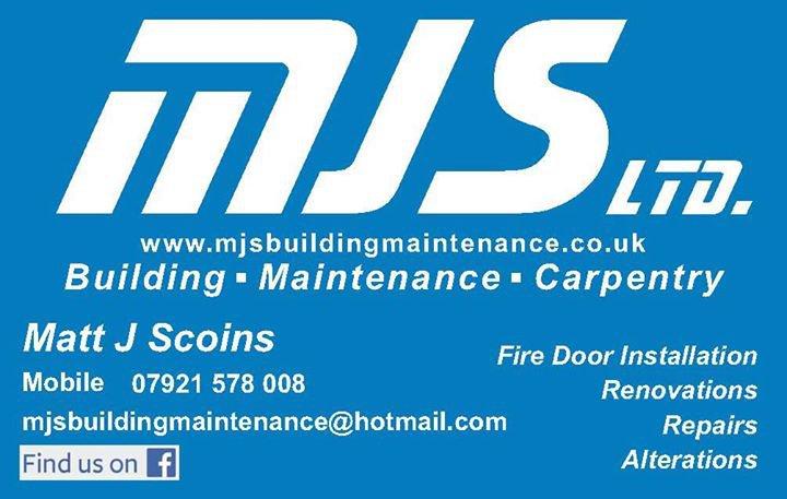 MJS Building Maintenance LTD cover