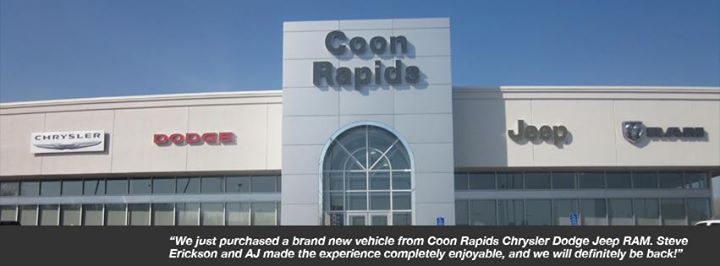 Coon Rapids Chrysler Dodge Jeep Ram cover