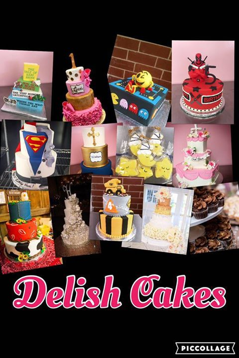Delish Cakes, Bloomingdale cover