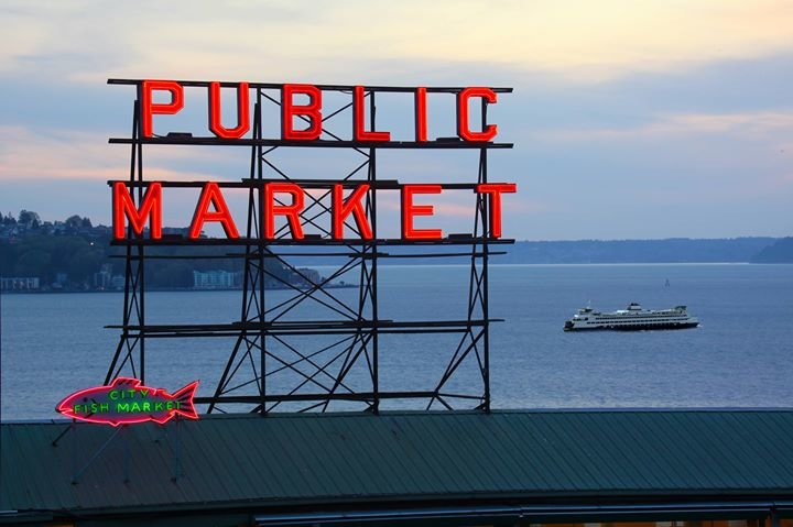 Pike Place Market cover