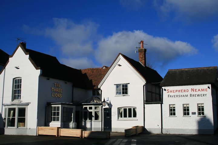 The Three Lions at Farncombe cover