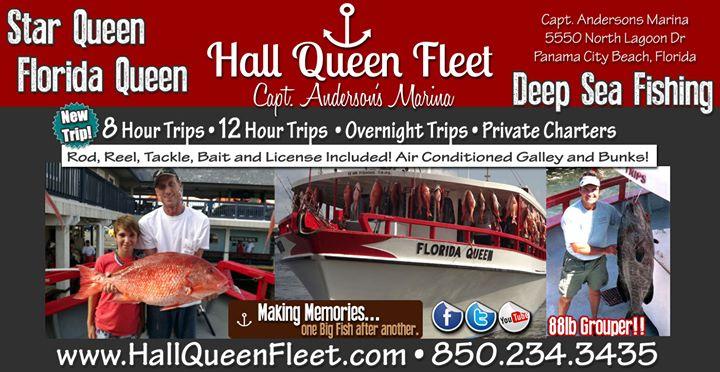 Hall Queen Fleet Deep Sea Fishing / K&G Queen Fleet, LLC cover