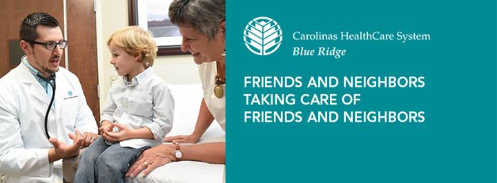 Carolinas HealthCare System Blue Ridge cover