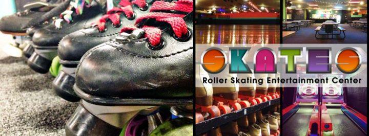 Skates Roller Skating Entertainment Center cover