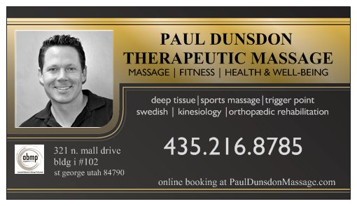 Paul Dunsdon Therapeutic Massage & Sports Masssage of Dixie cover