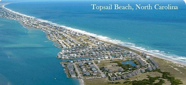 Town Of Topsail Beach North Carolina Cover