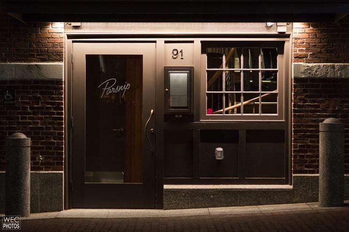 Parsnip Restaurant cover