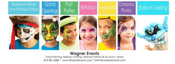 Wagner Events, Face & Body Art cover