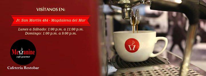 Mezzanine Cafetería Restobar cover