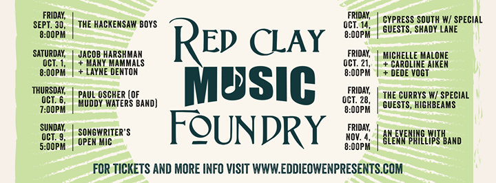 Red Clay Music Foundry cover
