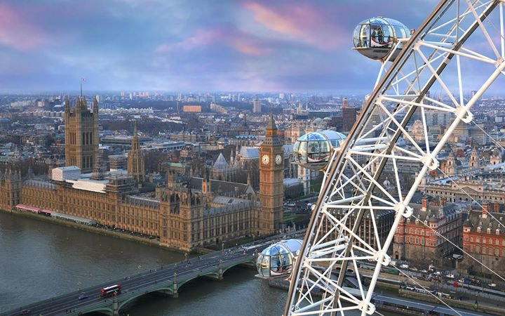 The Official London Eye cover