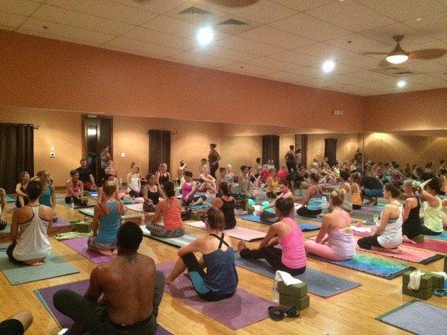 Melting Point Hot Yoga cover