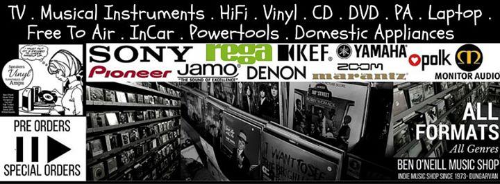Ben O'Neill Music Shop Dungarvan cover