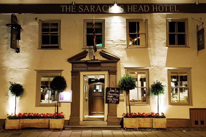 The Saracens Head Hotel cover
