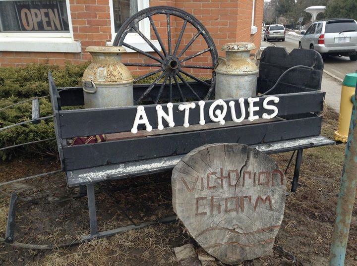 Victorian Charm Antiques, Gifts & Collectables cover