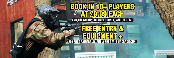 Delta Force Paintball East London cover