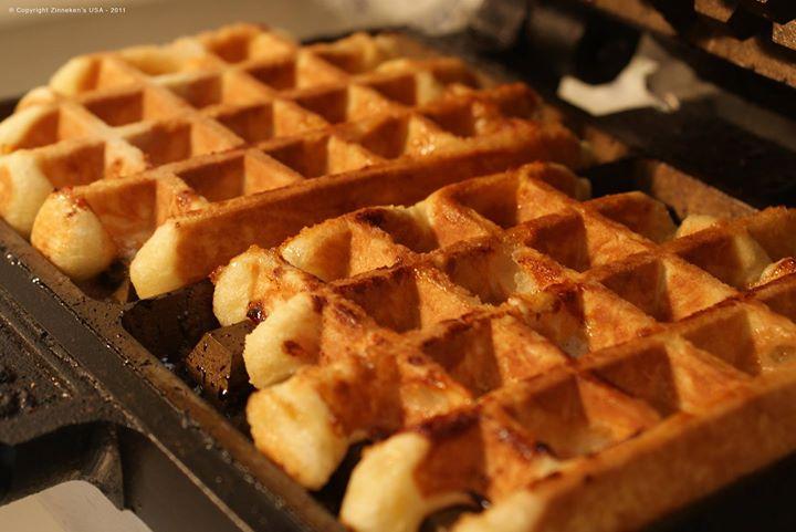 Zinneken's Belgian waffles cover