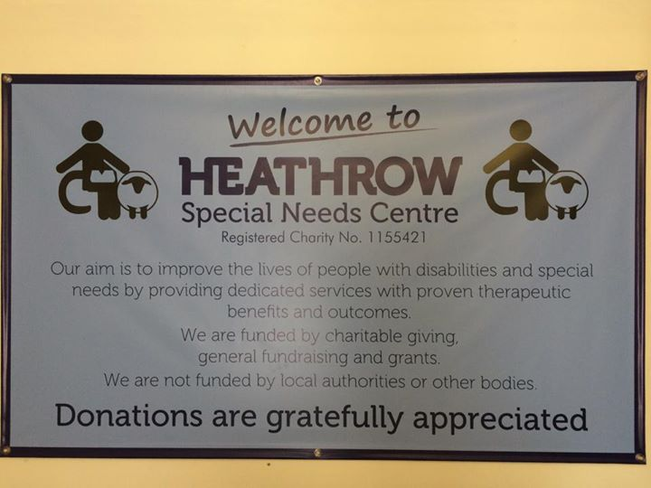 Heathrow Special Needs Centre cover