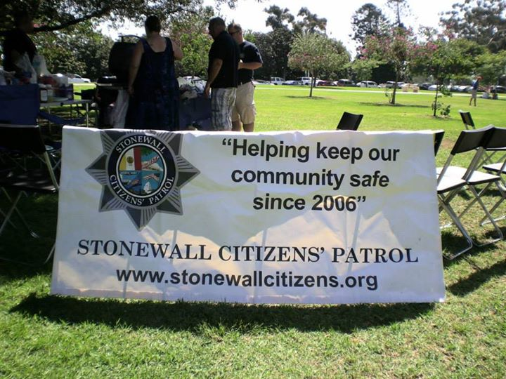 Stonewall Citizens' Patrol cover