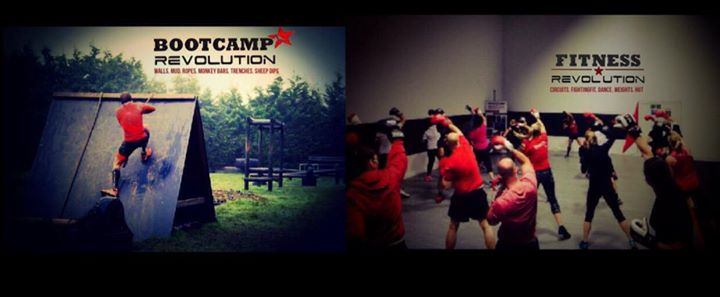 Bootcamp & Fitness Revolution cover