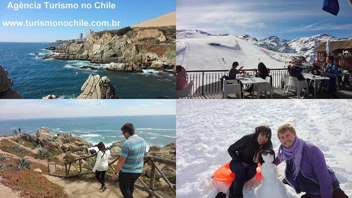 Turismo no Chile cover