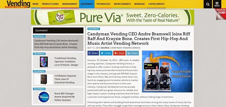 Candyman Vending cover