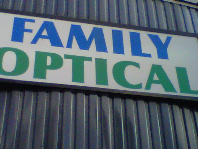 Family Optical LTD. cover